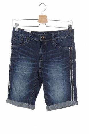 Детски къс панталон LMTD, Размер 15-18y/ 170-176 см, Цвят Син, 99% памук, 1% еластан, Цена 8,40лв.