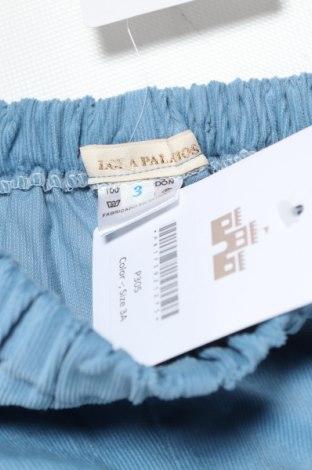 Παιδικό κοντό παντελόνι Lola Palacios, Μέγεθος 2-3y/ 98-104 εκ., Χρώμα Μπλέ, Βαμβάκι, Τιμή 9,07€