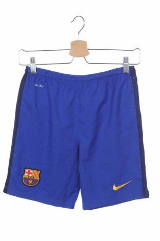 Παιδικό κοντό παντελόνι Nike, Μέγεθος 9-10y/ 140-146 εκ., Χρώμα Μπλέ, Πολυεστέρας, Τιμή 14,19€