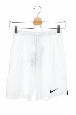 Παιδικό κοντό παντελόνι Nike, Μέγεθος 10-11y/ 146-152 εκ., Χρώμα Λευκό, Πολυεστέρας, Τιμή 8,34€