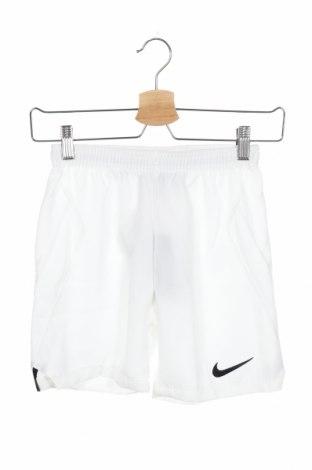Παιδικό κοντό παντελόνι Nike, Μέγεθος 7-8y/ 128-134 εκ., Χρώμα Λευκό, Πολυεστέρας, Τιμή 8,34€