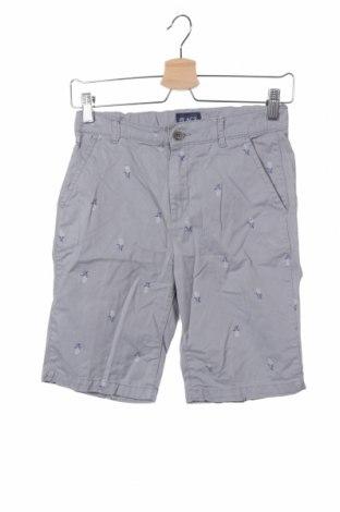 Παιδικό κοντό παντελόνι Place Est. 1989, Μέγεθος 11-12y/ 152-158 εκ., Χρώμα Γκρί, Βαμβάκι, Τιμή 8,57€