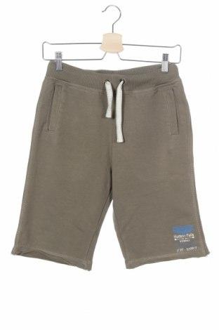 Παιδικό κοντό παντελόνι S.Oliver, Μέγεθος 12-13y/ 158-164 εκ., Χρώμα Πράσινο, 90% βαμβάκι, 10% ελαστάνη, Τιμή 7,53€