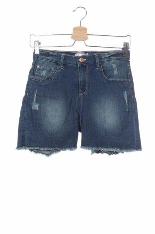 Παιδικό κοντό παντελόνι VRS  Kids, Μέγεθος 12-13y/ 158-164 εκ., Χρώμα Μπλέ, 70% βαμβάκι, 28% πολυεστέρας, 2% ελαστάνη, Τιμή 7,96€