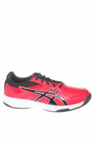 Παιδικά παπούτσια ASICS, Μέγεθος 39, Χρώμα Κόκκινο, Δερματίνη, κλωστοϋφαντουργικά προϊόντα, Τιμή 48,54€
