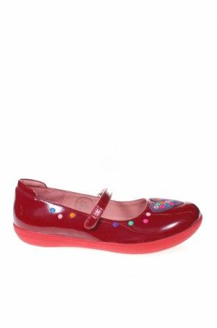 Παιδικά παπούτσια Agatha Ruiz De La Prada, Μέγεθος 33, Χρώμα Κόκκινο, Γνήσιο δέρμα, Τιμή 33,49€