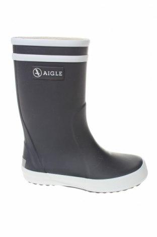 Παιδικά παπούτσια Aigle, Μέγεθος 24, Χρώμα Μπλέ, Πολυουρεθάνης, Τιμή 25,34€