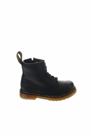 Παιδικά παπούτσια Dr. Martens, Μέγεθος 25, Χρώμα Μαύρο, Γνήσιο δέρμα, Τιμή 79,02€