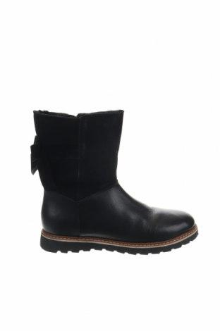 Παιδικά παπούτσια Friboo, Μέγεθος 35, Χρώμα Μαύρο, Γνήσιο δέρμα, φυσικό σουέτ, Τιμή 53,74€