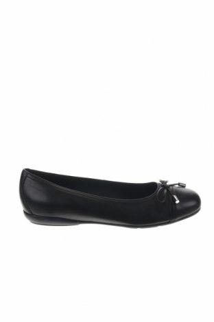 Παιδικά παπούτσια Geox, Μέγεθος 39, Χρώμα Μαύρο, Γνήσιο δέρμα, Τιμή 35,72€