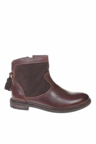Детски обувки Gioseppo, Размер 33, Цвят Кафяв, Естествена кожа, естествен велур, Цена 28,06лв.
