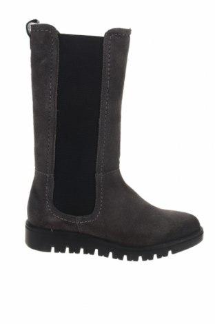 Παιδικά παπούτσια Gioseppo, Μέγεθος 33, Χρώμα Γκρί, Φυσικό σουέτ, κλωστοϋφαντουργικά προϊόντα, Τιμή 23,77€