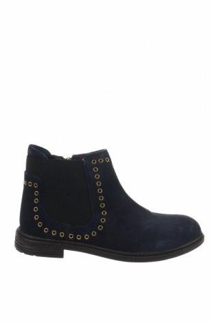 Παιδικά παπούτσια Gioseppo, Μέγεθος 34, Χρώμα Μπλέ, Φυσικό σουέτ, Τιμή 45,21€