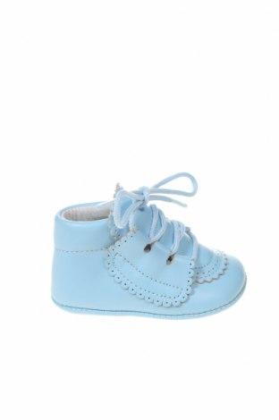 Παιδικά παπούτσια Lola Palacios, Μέγεθος 15, Χρώμα Μπλέ, Γνήσιο δέρμα, Τιμή 33,49€