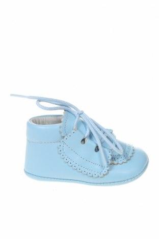 Παιδικά παπούτσια Lola Palacios, Μέγεθος 16, Χρώμα Μπλέ, Γνήσιο δέρμα, Τιμή 13,76€