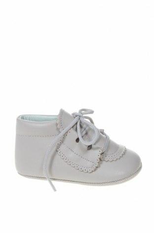 Παιδικά παπούτσια Lola Palacios, Μέγεθος 19, Χρώμα Γκρί, Γνήσιο δέρμα, Τιμή 16,06€