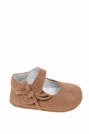 Детски обувки Lola Palacios, Размер 17, Цвят Кафяв, Естествен велур, Цена 13,28лв.