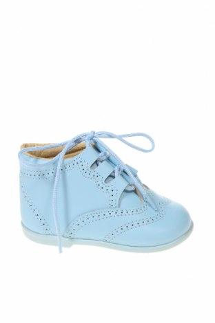 Παιδικά παπούτσια Lola Palacios, Μέγεθος 18, Χρώμα Μπλέ, Γνήσιο δέρμα, Τιμή 34,41€