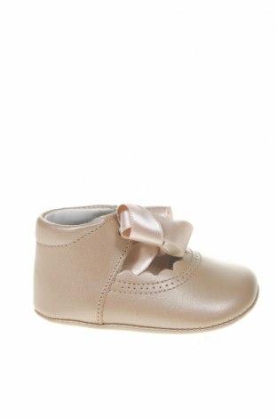 Παιδικά παπούτσια Lola Palacios, Μέγεθος 17, Χρώμα  Μπέζ, Γνήσιο δέρμα, Τιμή 33,49€