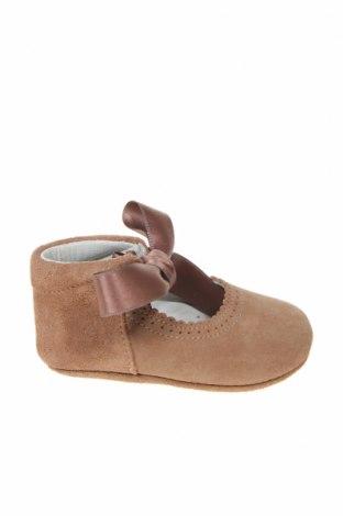 Παιδικά παπούτσια Lola Palacios, Μέγεθος 16, Χρώμα Καφέ, Φυσικό σουέτ, Τιμή 16,06€