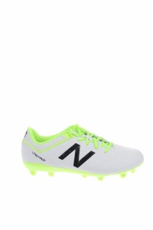Παιδικά παπούτσια New Balance, Μέγεθος 35, Χρώμα Λευκό, Δερματίνη, Τιμή 51,59€