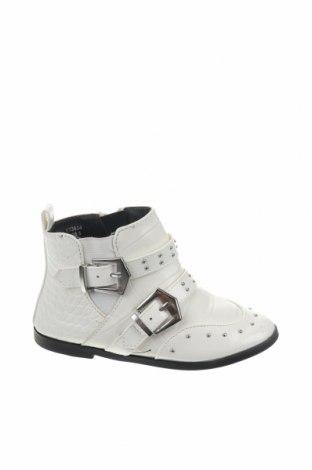 Παιδικά παπούτσια River Island, Μέγεθος 25, Χρώμα Εκρού, Δερματίνη, Τιμή 14,84€