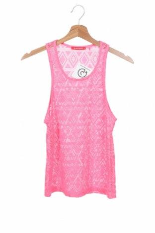 Μπλουζάκι αμάνικο παιδικό A punto, Μέγεθος 10-11y/ 146-152 εκ., Χρώμα Ρόζ , 95% πολυεστέρας, 5% ελαστάνη, Τιμή 3,64€
