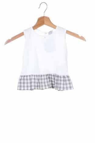 Μπλουζάκι αμάνικο παιδικό Little Celebs, Μέγεθος 18-24m/ 86-98 εκ., Χρώμα Λευκό, Βαμβάκι, Τιμή 7,77€