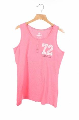 Μπλουζάκι αμάνικο παιδικό Pepperts!, Μέγεθος 10-11y/ 146-152 εκ., Χρώμα Ρόζ , 95% βαμβάκι, 5% ελαστάνη, Τιμή 2,73€