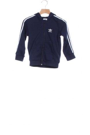 Παιδικό φούτερ Adidas, Μέγεθος 3-4y/ 104-110 εκ., Χρώμα Μπλέ, 70% βαμβάκι, 30% πολυεστέρας, Τιμή 22,37€