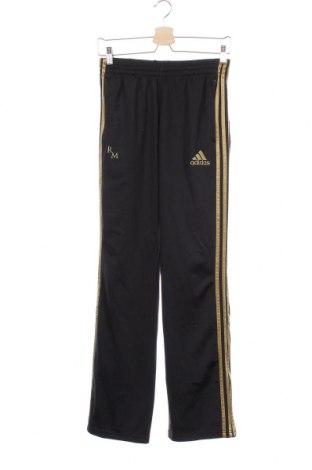 Παιδική κάτω φόρμα Adidas, Μέγεθος 15-18y/ 170-176 εκ., Χρώμα Μαύρο, Πολυεστέρας, Τιμή 8,83€