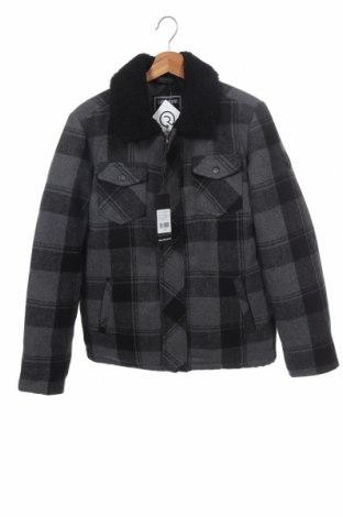 Παιδικό μπουφάν Cars Jeans, Μέγεθος 15-18y/ 170-176 εκ., Χρώμα Γκρί, Πολυεστέρας, μαλλί, Τιμή 45,62€