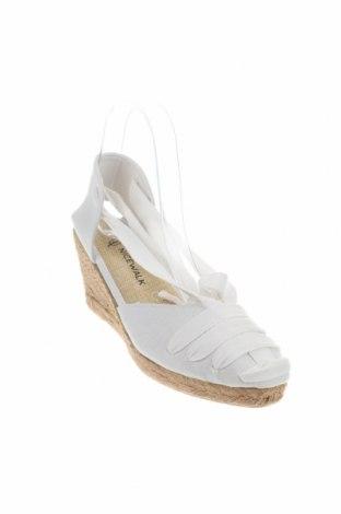 Εσπάδριλλες Nicewalk, Μέγεθος 38, Χρώμα Λευκό, Κλωστοϋφαντουργικά προϊόντα, Τιμή 15,54€
