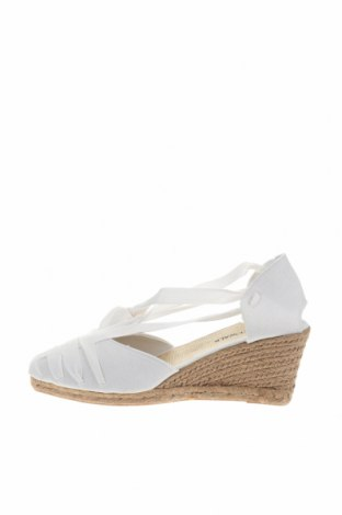 Εσπάδριλλες Nicewalk, Μέγεθος 41, Χρώμα Λευκό, Κλωστοϋφαντουργικά προϊόντα, Τιμή 15,54€