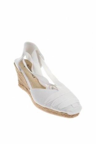 Εσπάδριλλες Nicewalk, Μέγεθος 39, Χρώμα Λευκό, Κλωστοϋφαντουργικά προϊόντα, Τιμή 15,54€