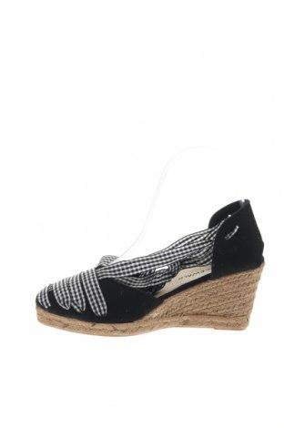 Εσπάδριλλες Nicewalk, Μέγεθος 37, Χρώμα Μαύρο, Κλωστοϋφαντουργικά προϊόντα, Τιμή 15,54€