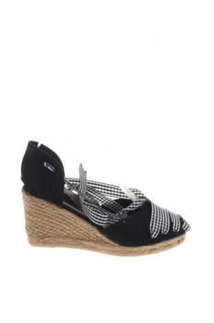 Εσπάδριλλες Nicewalk, Μέγεθος 36, Χρώμα Μαύρο, Κλωστοϋφαντουργικά προϊόντα, Τιμή 15,54€
