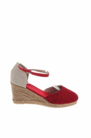 Εσπάδριλλες Nicewalk, Μέγεθος 37, Χρώμα Κόκκινο, Κλωστοϋφαντουργικά προϊόντα, Τιμή 14,20€