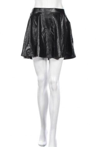Δερμάτινη φούστα Seductions, Μέγεθος M, Χρώμα Μαύρο, Δερματίνη, Τιμή 5,23€