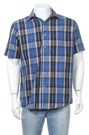 Мъжка риза, Размер M, Цвят Многоцветен, 65% полиестер, 35% памук, Цена 4,99лв.