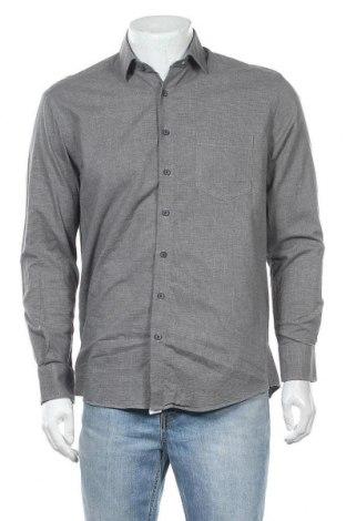 Мъжка риза Bexleys, Размер M, Цвят Сив, Памук, Цена 4,54лв.