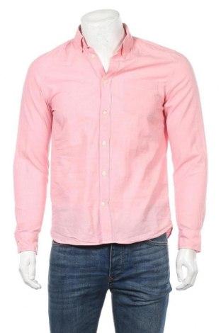 Мъжка риза H&M L.O.G.G., Размер S, Цвят Розов, Памук, Цена 4,46лв.