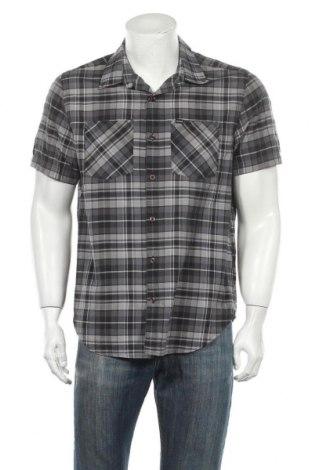 Мъжка риза Hurley, Размер M, Цвят Сив, 55% памук, 45% полиестер, Цена 15,59лв.