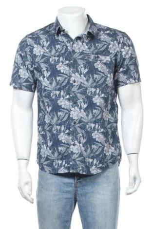 Мъжка риза Hurley, Размер M, Цвят Син, Цена 19,85лв.