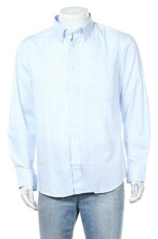 Ανδρικό πουκάμισο Infinity, Μέγεθος XL, Χρώμα Μπλέ, Βαμβάκι, Τιμή 8,53€