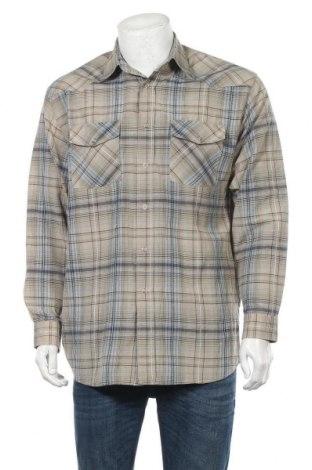 Ανδρικό πουκάμισο Tantum O.N., Μέγεθος L, Χρώμα Πολύχρωμο, 60% βαμβάκι, 40% πολυεστέρας, Τιμή 11,69€