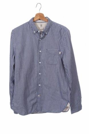 Ανδρικό πουκάμισο Timberland, Μέγεθος M, Χρώμα Μπλέ, Βαμβάκι, Τιμή 20,78€