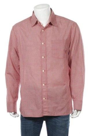 Ανδρικό πουκάμισο Timberland, Μέγεθος L, Χρώμα Κόκκινο, Βαμβάκι, Τιμή 18,15€
