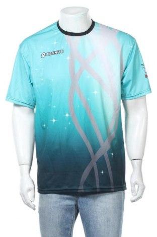 Мъжка тениска, Размер L, Цвят Зелен, Полиестер, Цена 13,44лв.