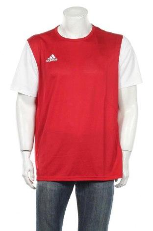 Ανδρικό t-shirt Adidas, Μέγεθος XL, Χρώμα Κόκκινο, Πολυεστέρας, Τιμή 26,68€